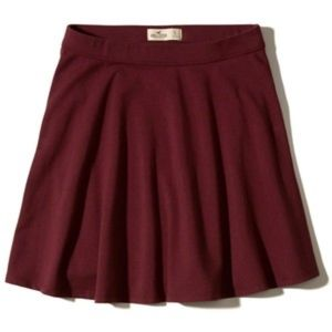 Hollister Knit Skater Skirt